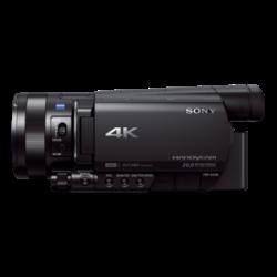 FDR-AX100E: AX100E: zaawansowana kamera Handycam® 4K