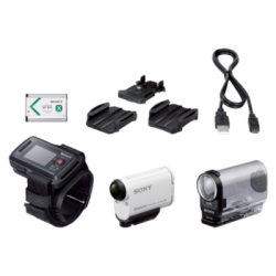 HDR-AS200VR: Action Cam AS200V z Wifi i GPS, z pilotem z funkcją podglądu na