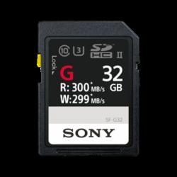 SF-G32: Karta pamięci SD serii SF-G UHS-II