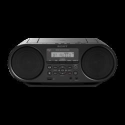 ZS-RS60BT: Odtwarzacz CD typu boombox złączem Bluetooth®