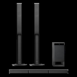 HT-RT4: 5.1-kanałowy zestaw kina domowego z systemem dźwięku przestrzennego