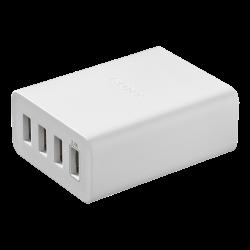 CP-AD2M4: Zasilacz sieciowy USB z 4 portami