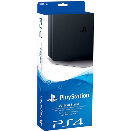 Sony Playstation PS4 Vertical Stand Black - konsola playstation 4, konsola playstation, konsola ps4, konsola ps4 slim, playstation konsola
