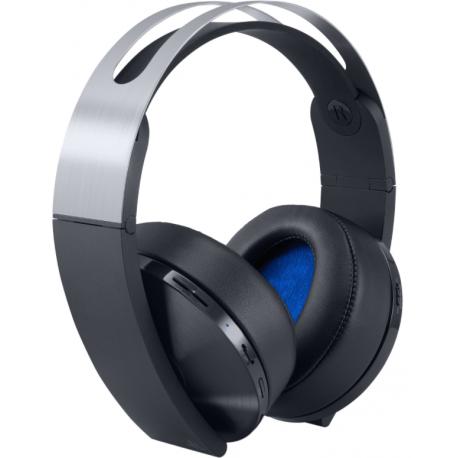Słuchawki Sony Playstation PS4 Platinum Wireless - słuchawki bezprzewodowe sony, słuchawki bezprzewodowe, słuchawki sony, konsola playstation 4, konsola ps4 pro