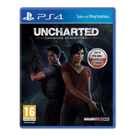 Gra PS4 Uncharted: Zaginione Dziedzictwo - gra ps4, gry na playstation, gry playstation, gry ps4, solpol