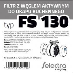 Filtr węglowy SELECTRA FS130