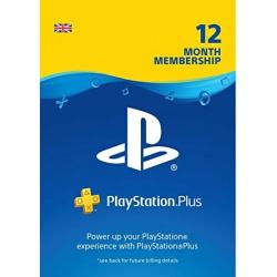 Karta Sony Playstation Plus PSN 365 dni