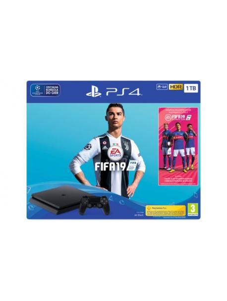 Konsola SONY PlayStation 4 1TB  + Gra Fifa 19