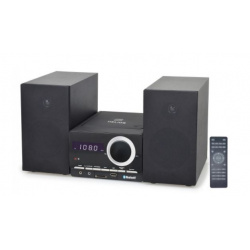 Wieża HELIOS Bluetooth CD USB Pilot Czarna